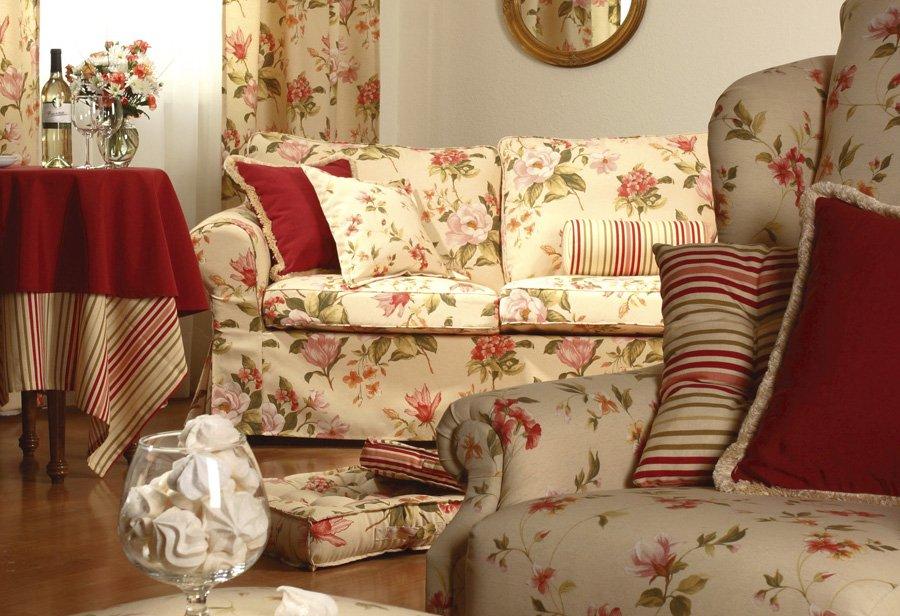 Obývací pokoj - látky Londres 1