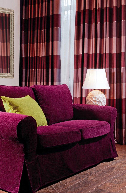 Obývací pokoj - látky  Chenille 1