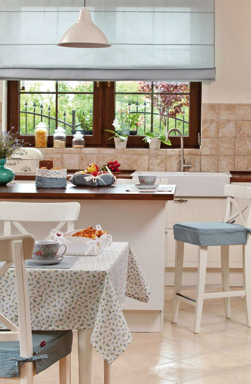 Virtuvės užuolaidos romanetės Amelie