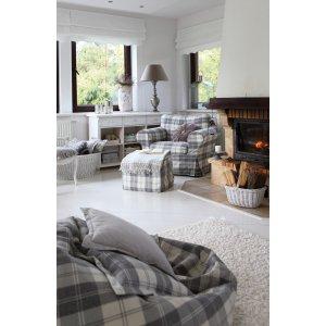 vardagsrum - soffklädslar - kuddar - gardiner