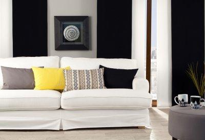 Cotton Panama 702-09 fra kollektionen Cotton Panama, Stof: 702-09