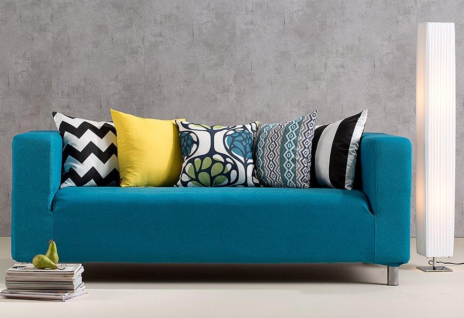 Woonkamer - IKEA zitbankhoes, collectie Etna