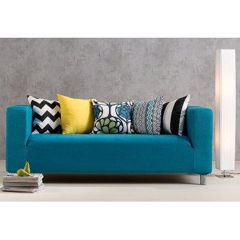 Salon - pokrowiec na sofę z IKEA, kolekcja Etna