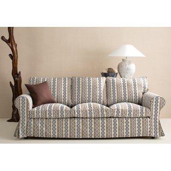Obývací pokoj - potahy na pohovky - látky Mosaic