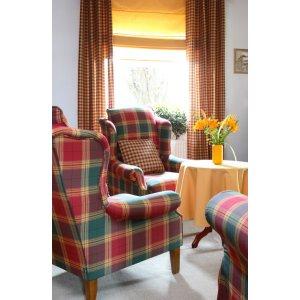 Obývací pokoj - látky Bristol