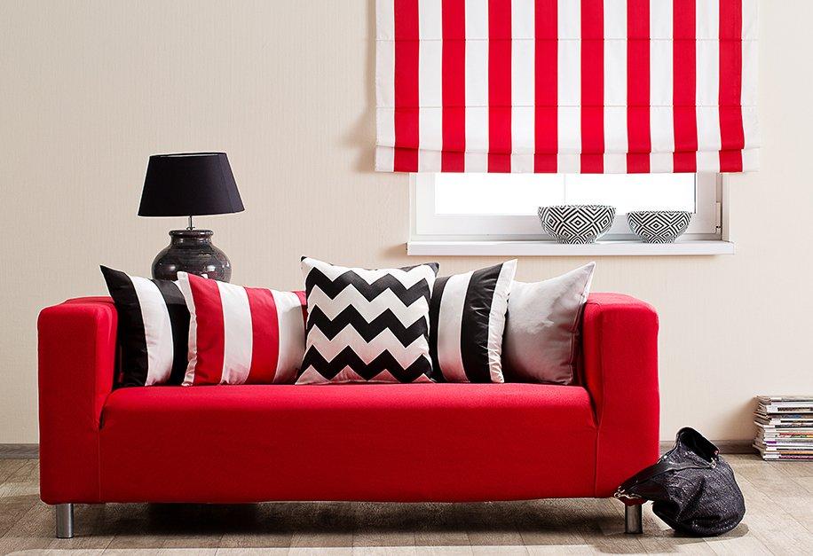 Nappali - kanapéhuzat IKEA kanapéra Etna bútorszövetből 2