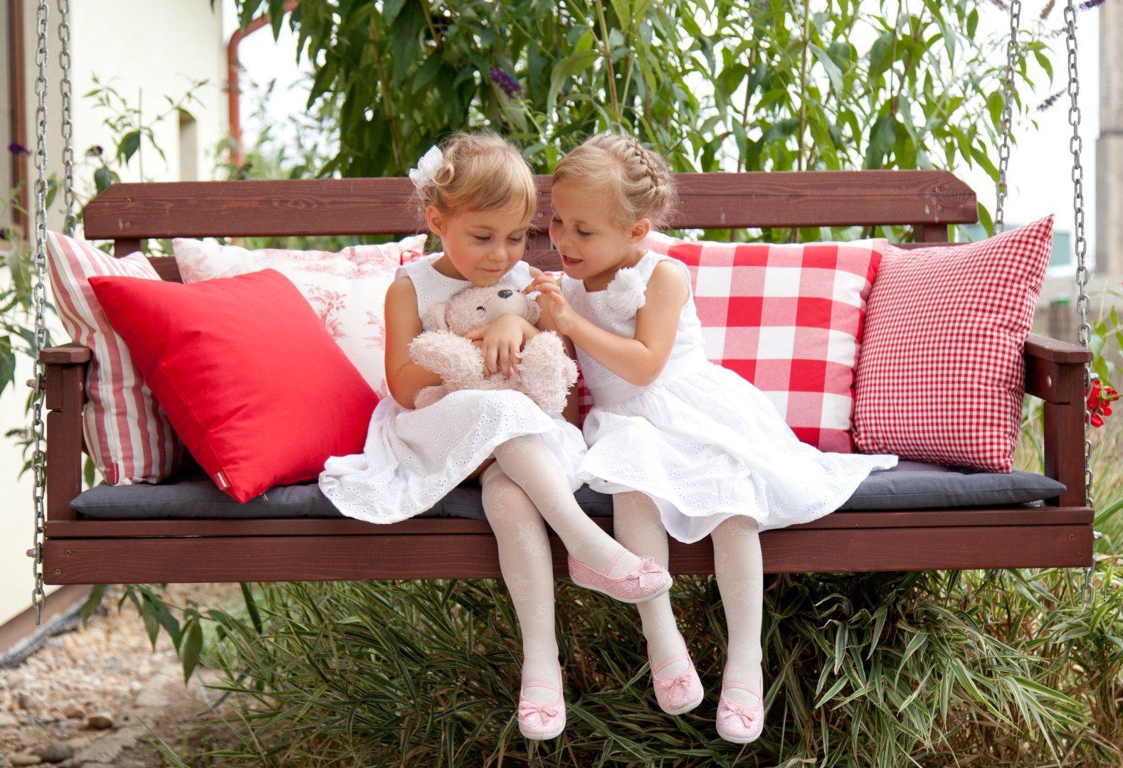 Kissen im Garten