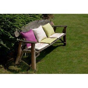 Ogród siedziska na ławkę