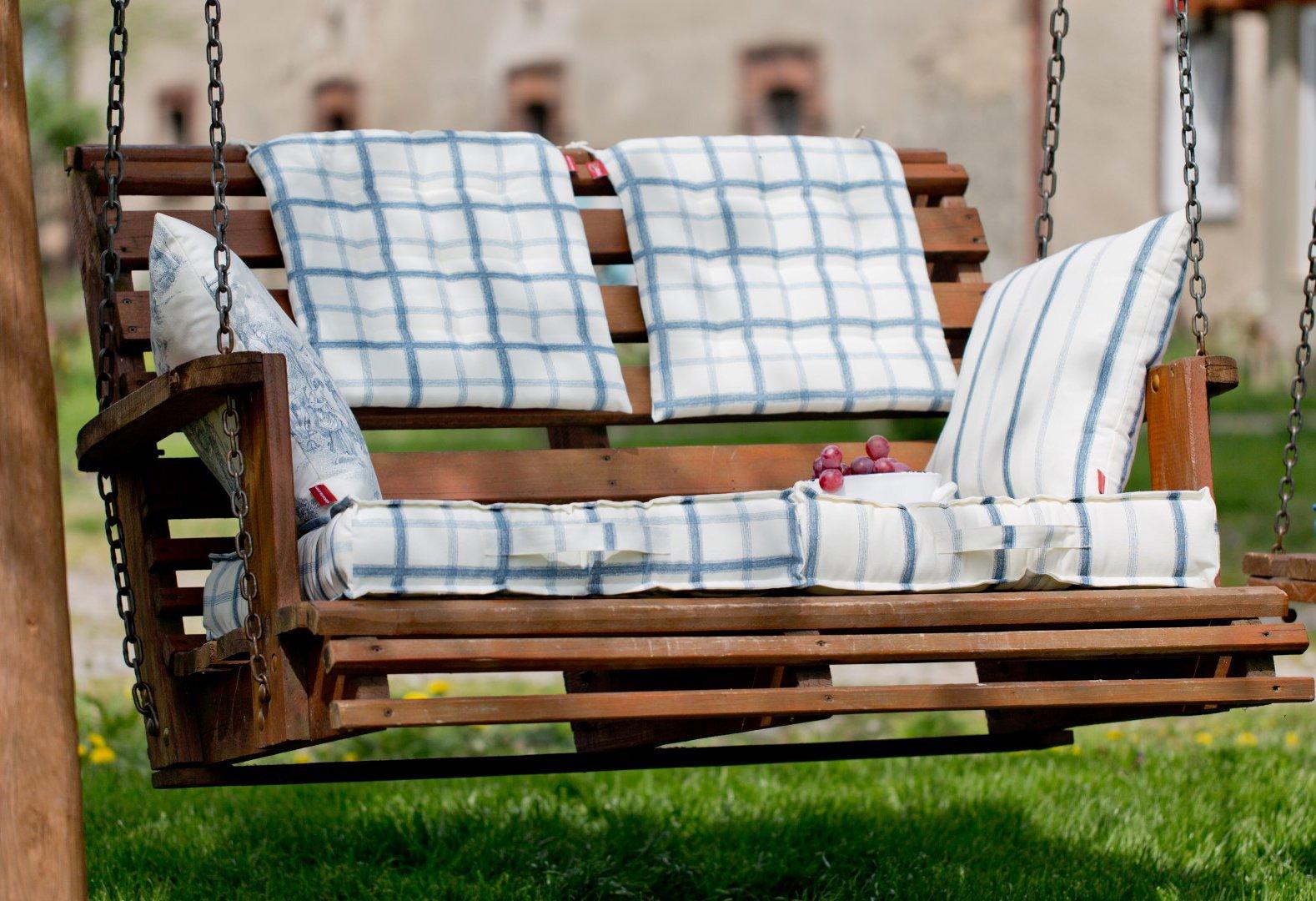 Ogród white&blue