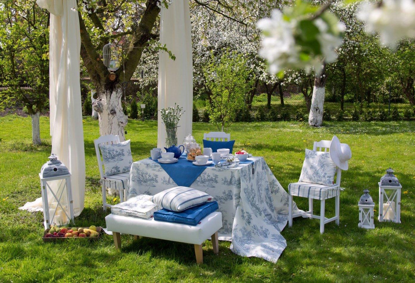 Ogród w prowansalskim klimacie