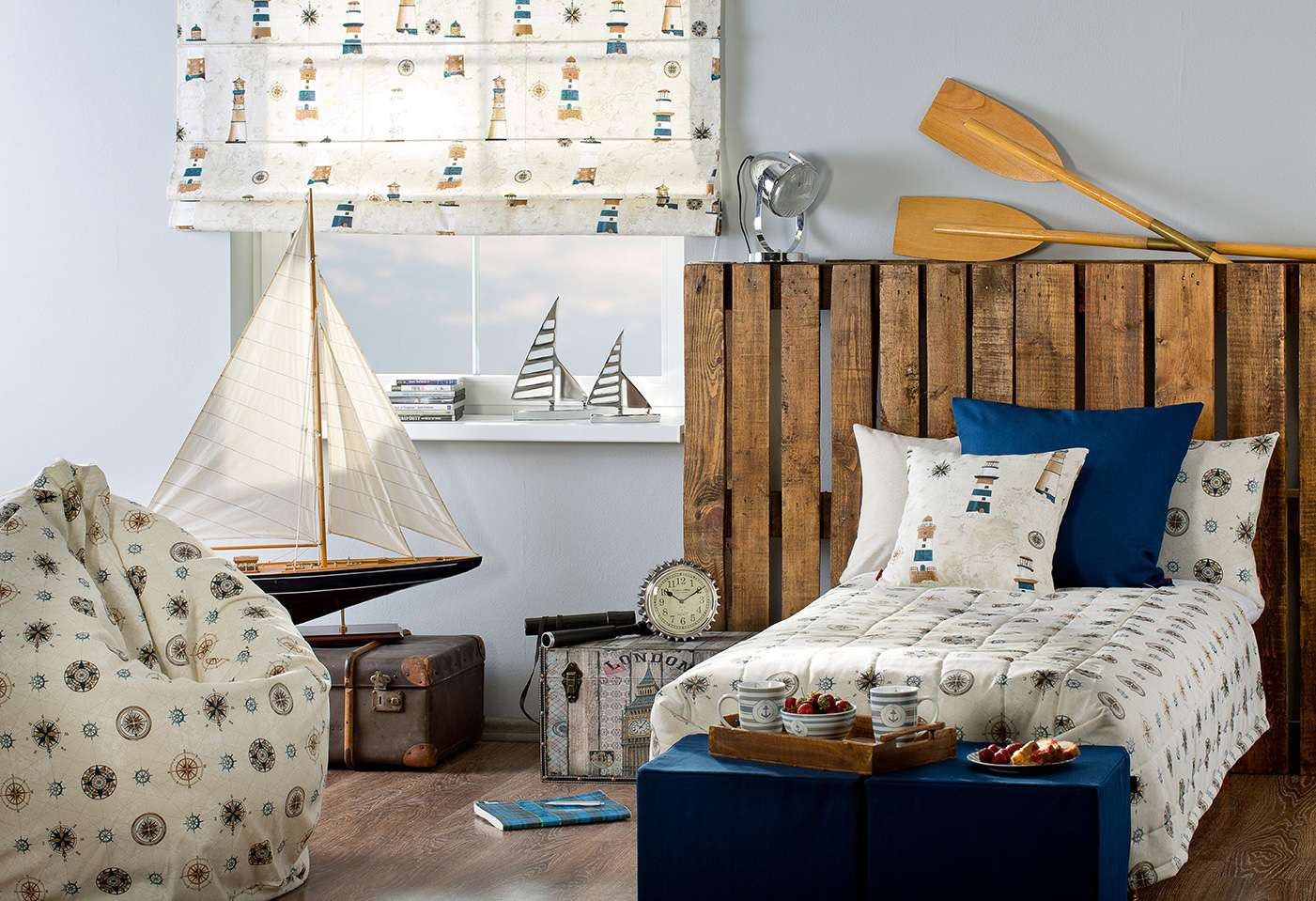 Kids room Maritime Theme