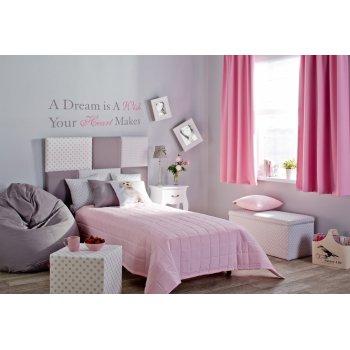 Detská izba v pastelovo ružovej