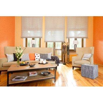 Nappali narancssárga színekkel