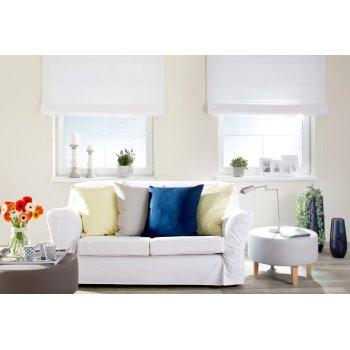 Obývačka v bielej
