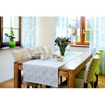 Dining room Blue Flowers