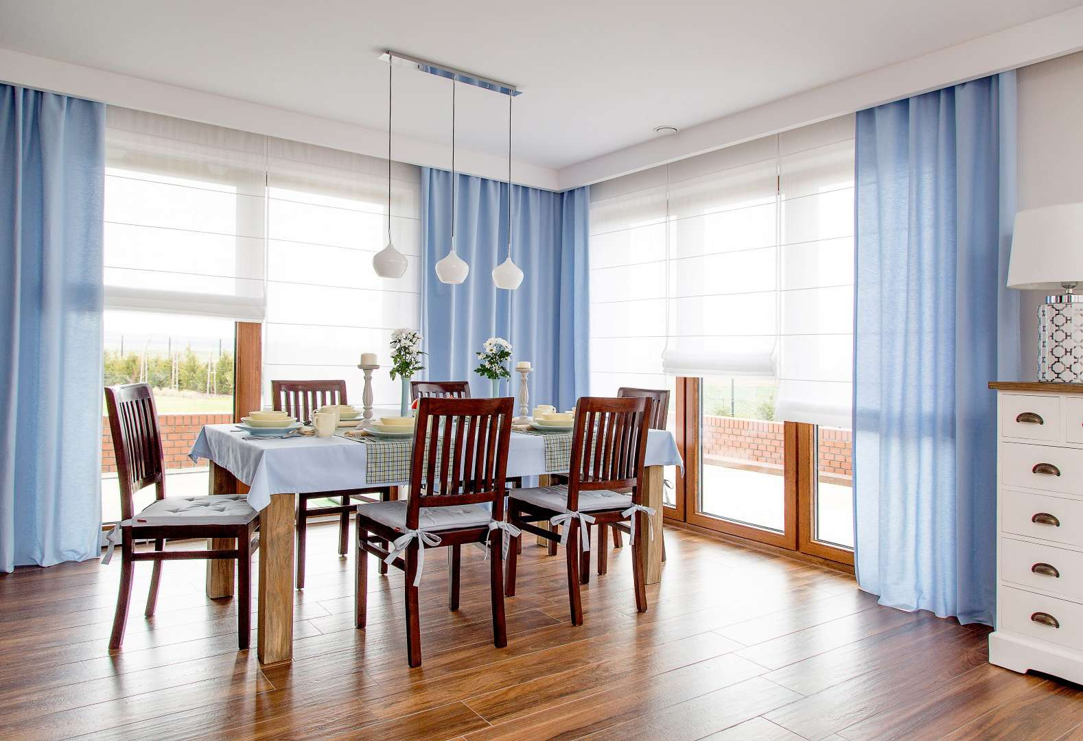 Dining room Light Blue