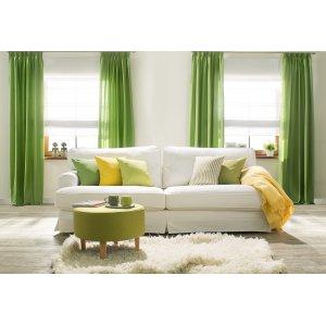Obývací pokoj v jarních barvách