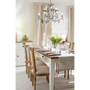 Sváteční aranžmá stolu  - Linen