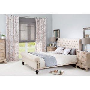 Schlafzimmer in beige