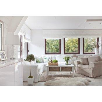 Obývací pokoj ve stylu Hampton