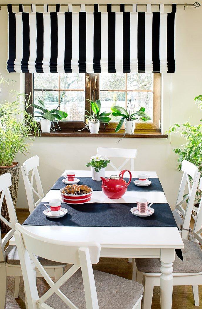 Romanetės virtuvėje juodai-baltos