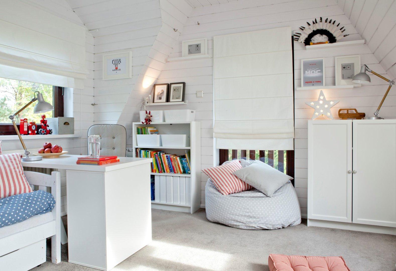 Vaikų/jaunuolių kambarys- skandinaviškas stilius
