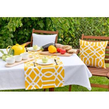 Snídaně - piknik na zahradě