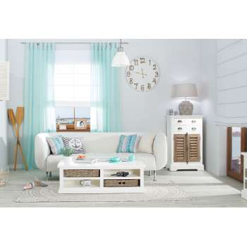 Obývací pokoj - přímořský styl