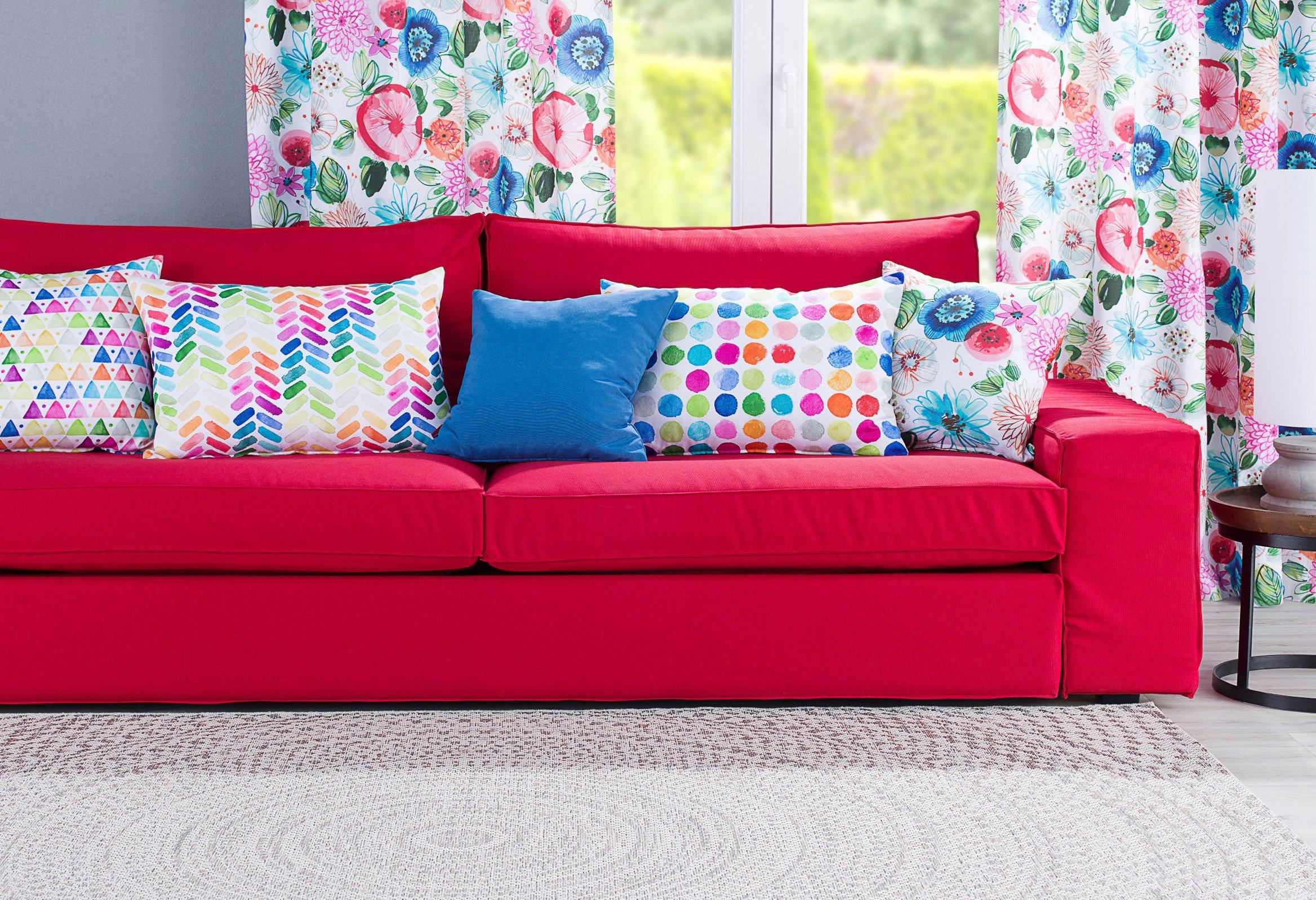 Obývací pokoj v letních barvách