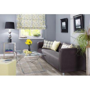 Wohnzimmer im Gelb & Grau