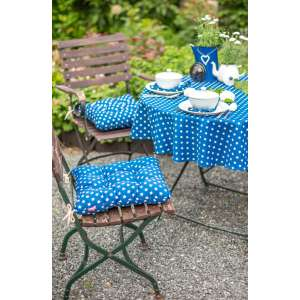 Garten mit Blau