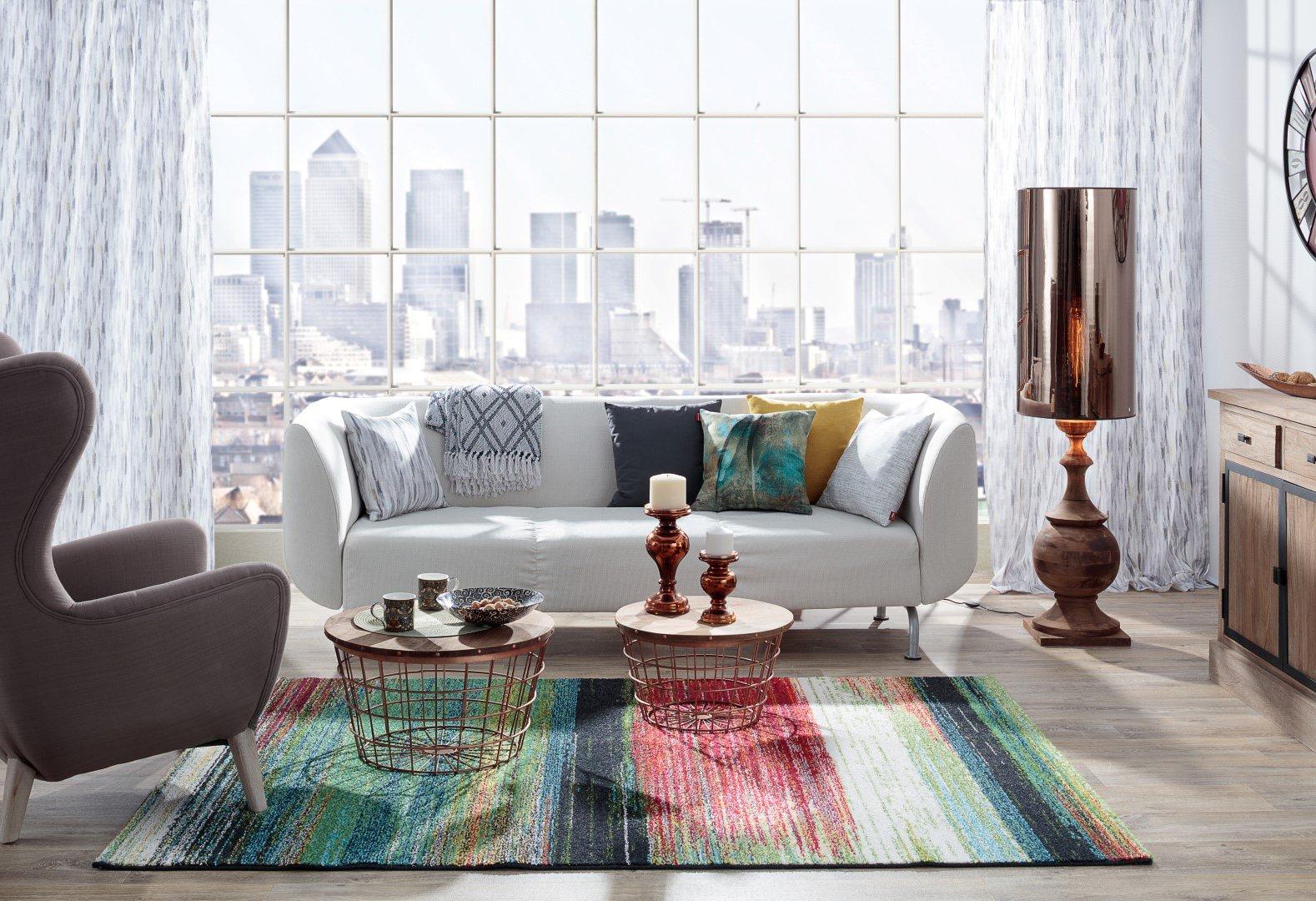Das Wohnzimmer im Stil der Großstadt