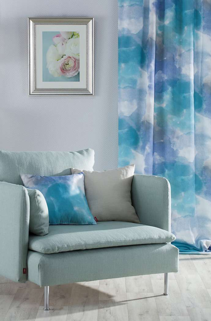 Living room Shades of Blue