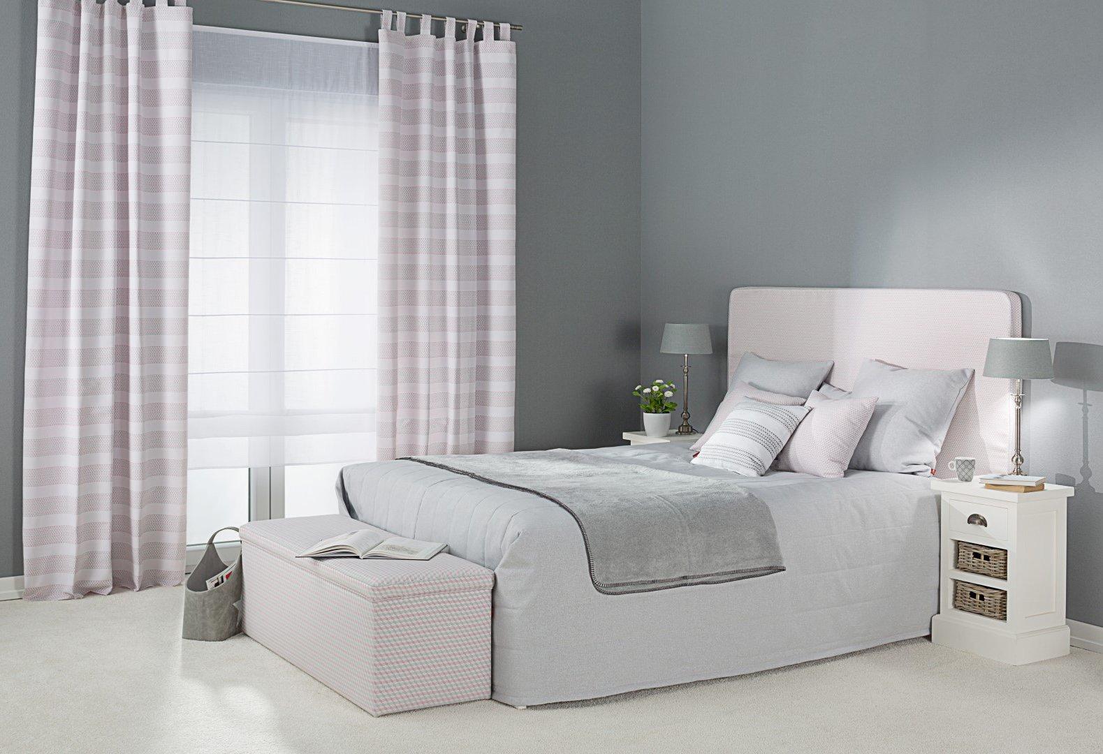 Schlafzimmer in Pastelltönen