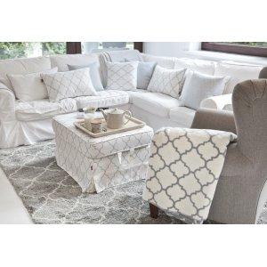 Obývací pokoj s orientálním vzorem