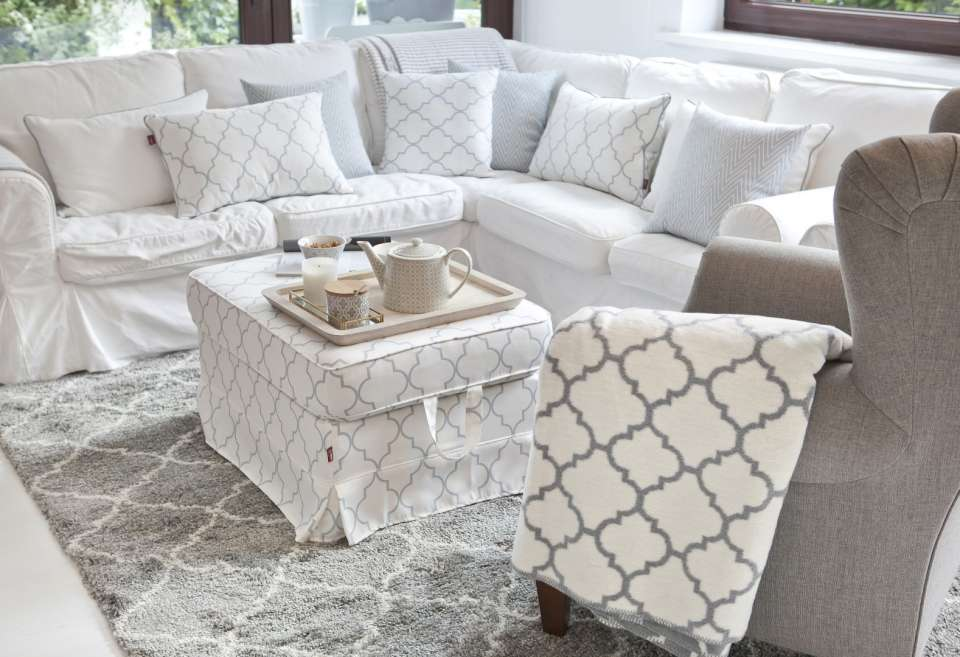 Marrokanische Muster im Wohnzimmer
