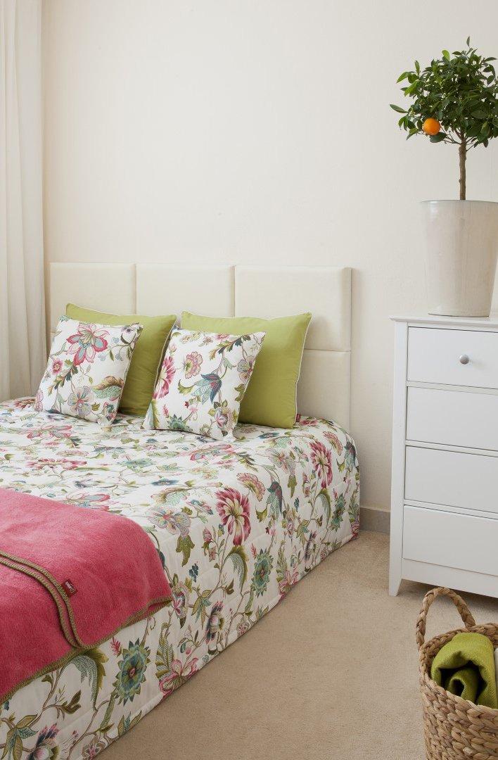 Sypialnia - kwiatowo i modnie!