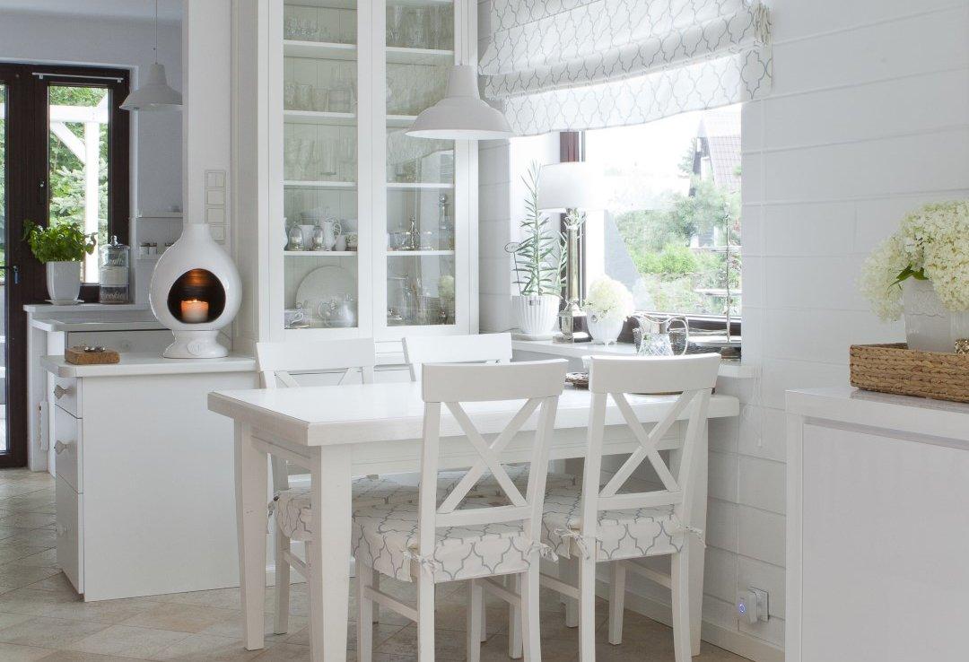 Eßzimmer mit marrokanischem Muster