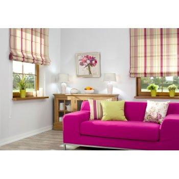 Heidekraut- Farbe im Wohnzimmer