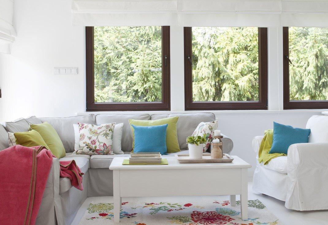 Obývací pokoj Salon - v hlavní roli pohovka
