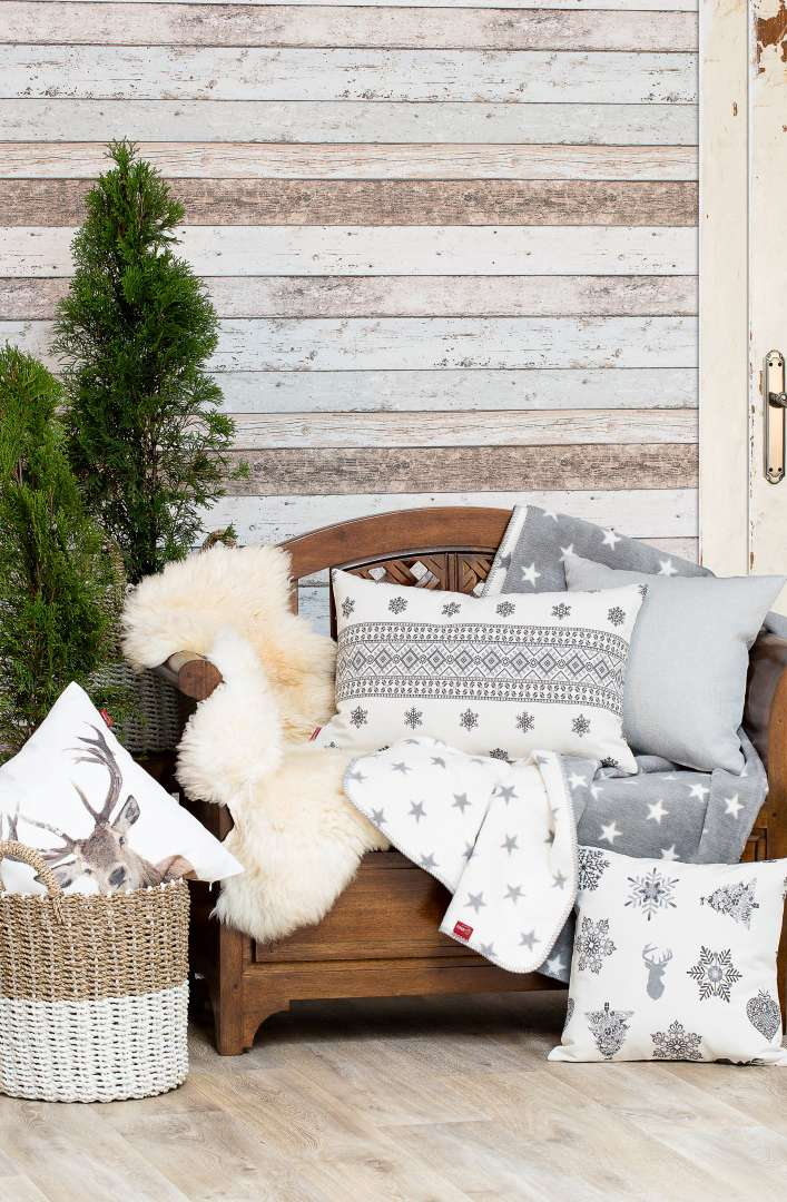 Skandináv karácsony a nappaliban