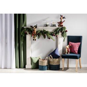 Święta - dekoracja kominka