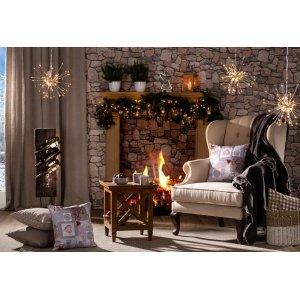 Święta przy kominku