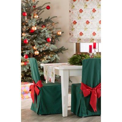 Dekorácie v klasických farbách Vianoc