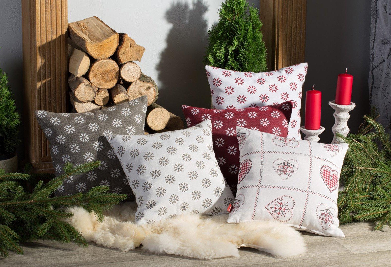 Šventinės dekoratyvinės pagalvėlės