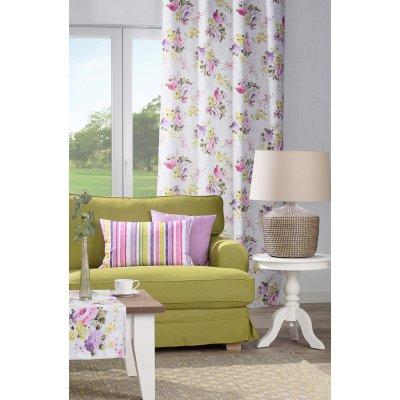 Obývací pokoj green&violet