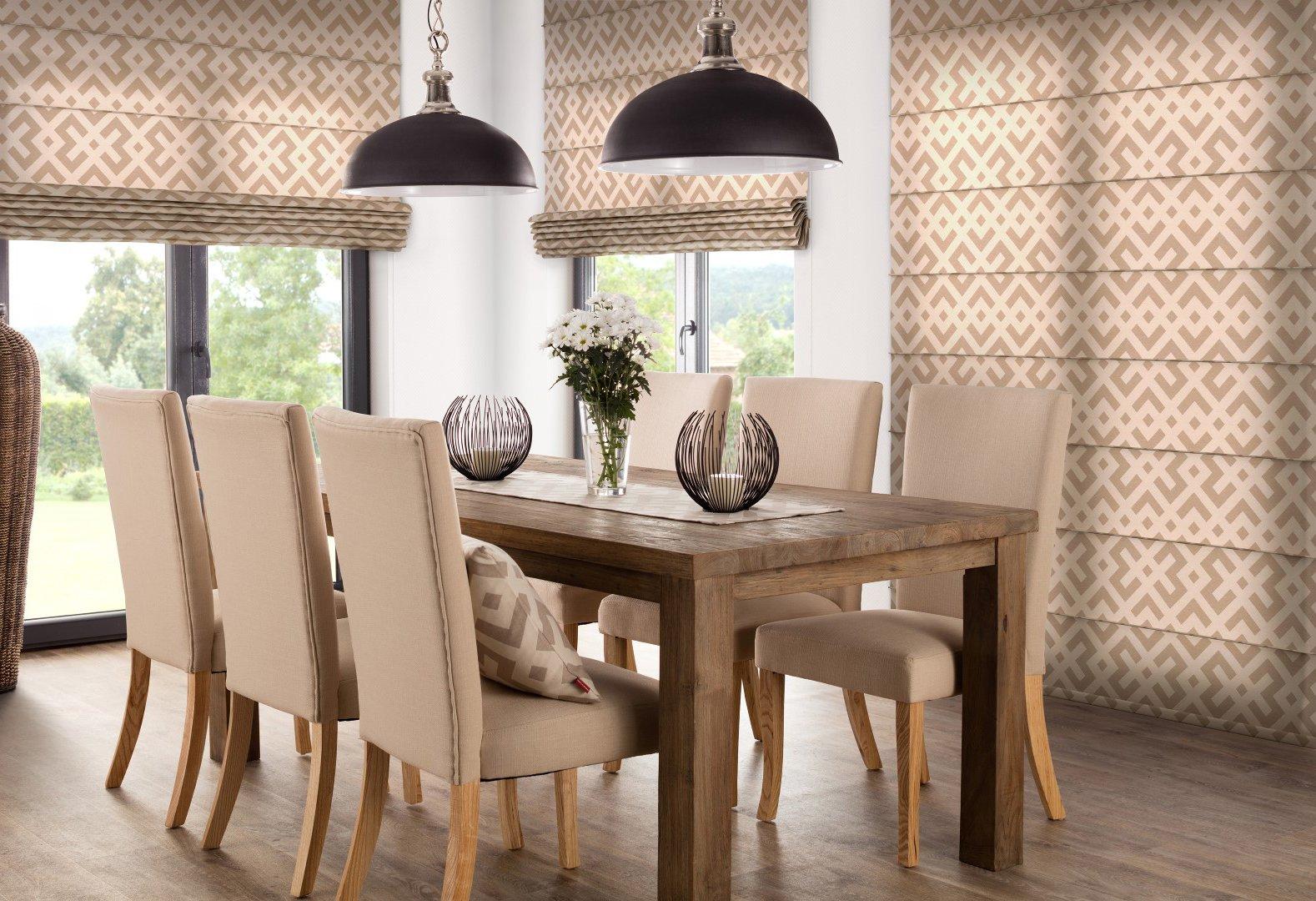 Dining room in Beige