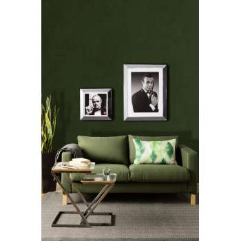 Living room Kale Colour of the Year for 2017