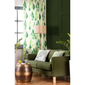 Salon w odcieniach zieleni 2017