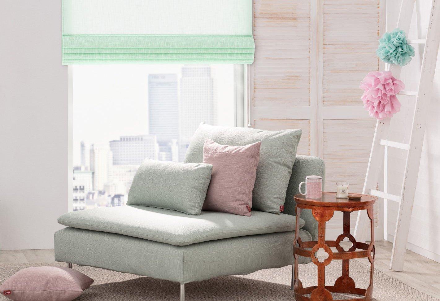 Salon w pastelowej stylizacji